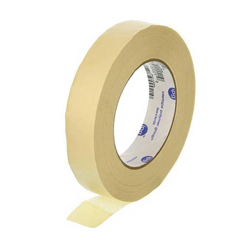نوارچسب کاغذی باریک ipg آمریکایی 50 یارد - سفید